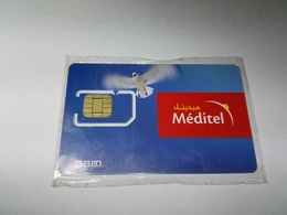 MAROC TELECARTE CARTE GSM SIM MEDITEL MédiJAHIZ   ///// B10 - Maroc