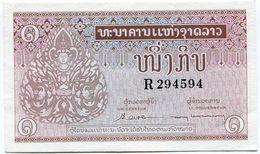 LAOS BILLET NEUF DE 1 KIP DE 1962 - Laos