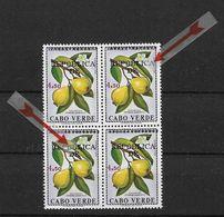 """CAPE VERDE 1976 Stamps Of 1968  Overload  Quarter """"ERROR"""" - Cape Verde"""