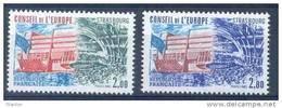FRANCE - Yv. Nr 77/78 - Conseil De L'Europe - MNH** - Cote 2,25 € - Neufs