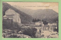 VALLERAUGUE : La Chaussée Sur L'Hérault. 2 Scans. - Valleraugue
