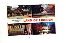 Carte Land Lincoln - Etats-Unis