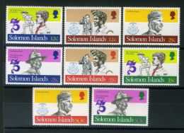 SALOMON ( POSTE ) Y&T N°  465/472  TIMBRES  NEUFS  SANS  TRACE  DE  CHARNIERE , A  VOIR . - Salomon (Iles 1978-...)