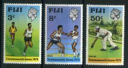 FIDJI ( POSTE ) Y&T N°  321/323  TIMBRES  NEUFS  SANS  TRACE  DE  CHARNIERE , A  VOIR . - Fidji (1970-...)