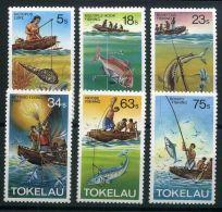 TOKELAU ( POSTE ) Y&T N°  85/90 TIMBRES  NEUFS  SANS  TRACE  DE  CHARNIERE , A  VOIR . - Tokelau