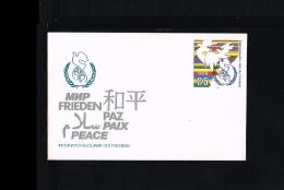 1986 - GDR Prepaid Cover - Postal Stationery - Peace - Int. Jahr Des Friedens [HC044] - [6] Oost-Duitsland