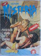 """A4079  FUMETTO SEXY HARD EROTICO MISTERIA ANNO 2° """"POSSEDUTA E AMATA DAL DEMONIO""""  N.18 LUGLIO 1985 EDIFUMETTO - Humor"""