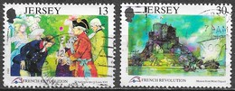 Jersey - Révolution Française  - Oblitérés - Lot 217 - Jersey