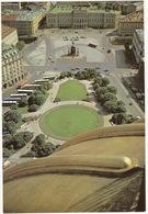 Leningrad: Place Cathédrale Saint-Isaac - St. Isaac's Square - 10x AUTOBUS (Jumbo Sized Postcard; 25 Cm X 17 Cm) - Rusland