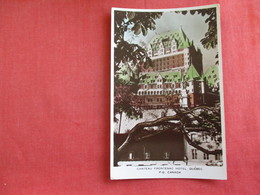 Canada > Quebec > Québec - Château Frontenac RPPC  Color -Ref  2876 - Québec - Château Frontenac
