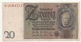 Allemagne 20 Reichsmark 1924 - [ 3] 1918-1933 : Weimar Republic