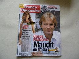 CELINE DION CLAUDE FRANCOIS Claude François VOIR PHOTO... ANCIEN MAGAZINE...REGARDEZ MES VENTES ! J'EN AI D'AUTRES - Riviste: Abbonamenti