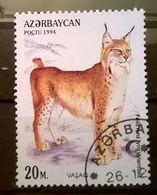 FRANCOBOLLI STAMPS AZERBAIJAN 1994 SERIE FELINI - Azerbaijan