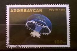 FRANCOBOLLI STAMPS AZERBAIJAN 1995 SERIE VITA SOTTOMARINA - Azerbaijan