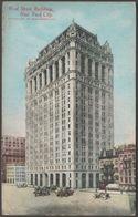 West Street Building, New York City, 1907 - Underhill Postcard - Manhattan
