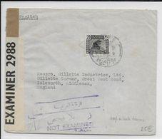 IRAQ - 1942 - ENVELOPPE De BAGHDAD Avec 2 CENSURES => ISLEWORTH (SUSSEX) - Iraq