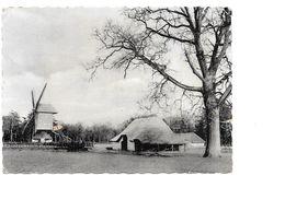 Bokrijk, Openluchtmuseum, Windmolen, Molen Met Schuren, Met Postzegel Achteraan. - Genk