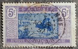 MAURITANIE - YT N°33 - Oblitéré - 1913/19 - Oblitérés