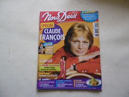 CLAUDE FRANCOIS Claude François VOIR PHOTO... ANCIEN MAGAZINE...REGARDEZ MES VENTES ! J'EN AI D'AUTRES - Magazines: Subscriptions