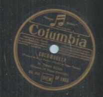 "78 Tours - TINO ROSSI  - COLUMBIA 1955  "" COLOMBELLA "" + "" LE SECRET DE TES CARESSES "" - 78 Rpm - Gramophone Records"