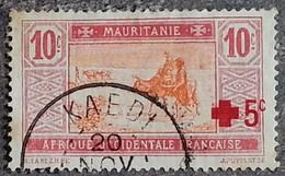 MAURITANIE - YT N°34 - Oblitéré - 1915/18 - Oblitérés