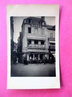 RARE !!!!! Cpa / Photo TROUVILLE Hotel, Café Restaurant TORTONI - Terrasse Animée - Voir Les 3 Scans - Trouville