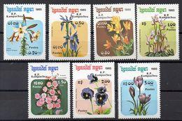 KAMPUCHEA  Timbres Neufs ** De  1985 ( Ref 5127 )   Fleurs - Kampuchea