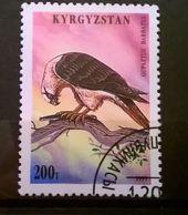 FRANCOBOLLI STAMPS KIRGHISTAN KYRGYZSTAN 1995 SERIE FALCHI - Kirghizstan