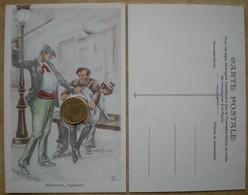 1 CP Vierge Coquine ARGUMENTS FRAPPANTS Illustrateur JR - Illustrators & Photographers