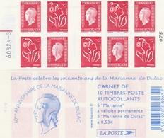 Carnet Mixte Lamouche Dulac YT 1513 Avec Repère électronique Rouge Au Mileu à Gauche . Superbe , Voir Le Scan . - Carnets