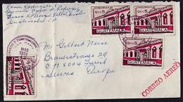 Ca0106  GUATEMALA 1974, Cover To Switzerland - Guatemala