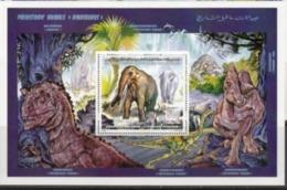 Libye 1995 Prehistory Prehistoire Dinosaurs Dinosaures - History