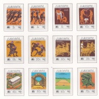 Suriname 1984 Los Angeles Olympic Games 12 Stamps  MNH/**  (H39) - Summer 1984: Los Angeles