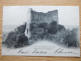 Les Environs 1904 Ruines De La Tour Rougemont - Montbard