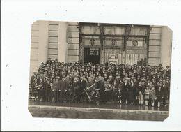 BELFORT (90) RARE PHOTO DU GROUPEMENT DES MUTILES ET INVALIDES DU TRAVAIL DU TER DE BELFORT CONGRES 4 10 1931 - Places