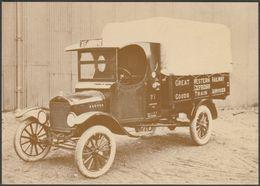 Great Western Railway Covered Freight Van - British Rail Postcard - Trucks, Vans &  Lorries