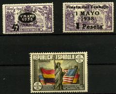 2225- España Nº 761/2, 763 - 1931-Today: 2nd Rep - ... Juan Carlos I