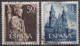 ESPAÑA 1954 Nº 1130/31 SERIE COMPLETA USADA - 1951-60 Usados