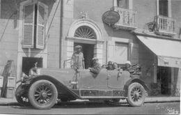 Automobile Non Identifiée - Carte Photo Ancienne Originale - Cars