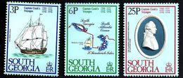 SOUTH GEORGIA COOK VOYAGES SET OF 3 3-25P MINT 1979 SG70-73 READ DESCRIPTION !! - South Georgia