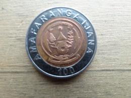 Rwanda  100  Francs  2007  Km 32 - Rwanda