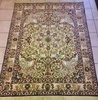 Persia - Iran - Tappeto Persiano Tabriz (Suf) Filo D'oro - Seta - Lana, Motivo A Rilievo - Extra Fine - Rugs, Carpets & Tapestry