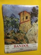 7117 - Bandol 1982 La Maison Lézardée Paul Cézanne - Art