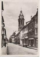 """CPA ALLEMAGNE LANDAU IN DER PFALZ """"Marktstrasse"""" Rue Commerçante - Landau"""