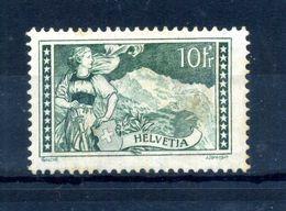 1930-31SVIZZERA N.245 10fr. * - Svizzera