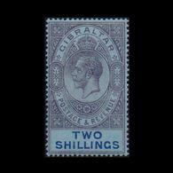 GIBRALTAR 1912 KGV TWO SHILLINGS MNH STAMP S.G.No82 - Gibraltar