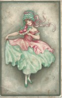 Wohlgemuth & Lissner - Primus Pastella No 2081 - 1928 - Cartes Postales