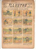 Le Petit Illustré Pour La Jeunesse Et La Famille N°440 Du 27/10/1912 Le Cochon Cycliste - Magazines Et Périodiques