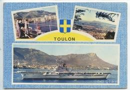 Toulon Multivues - Porte Avions FOCH  (n°38) - Toulon