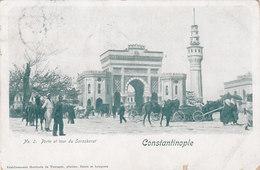 COSTANTINOPLE /  Porte Et Tour Du Seraskerat _ Viaggiata - Turchia
